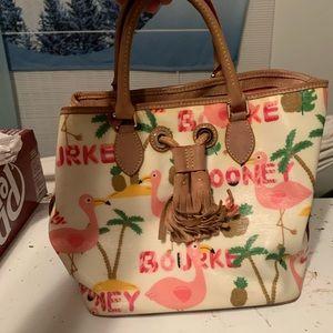 Dooney and bourke flamingo purse